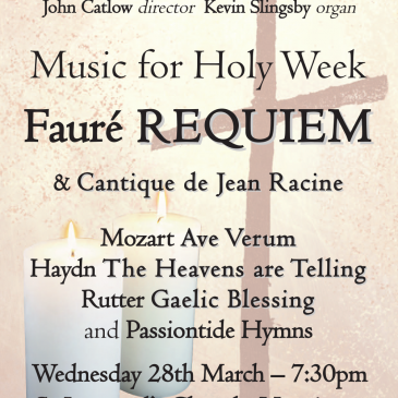 Easter Concert – Wednesday 28th March 2018