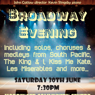 Summer Concert – A Broadway Evening