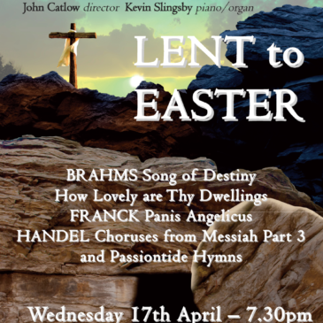 Lent to Easter